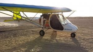 sahara volo sul deserto