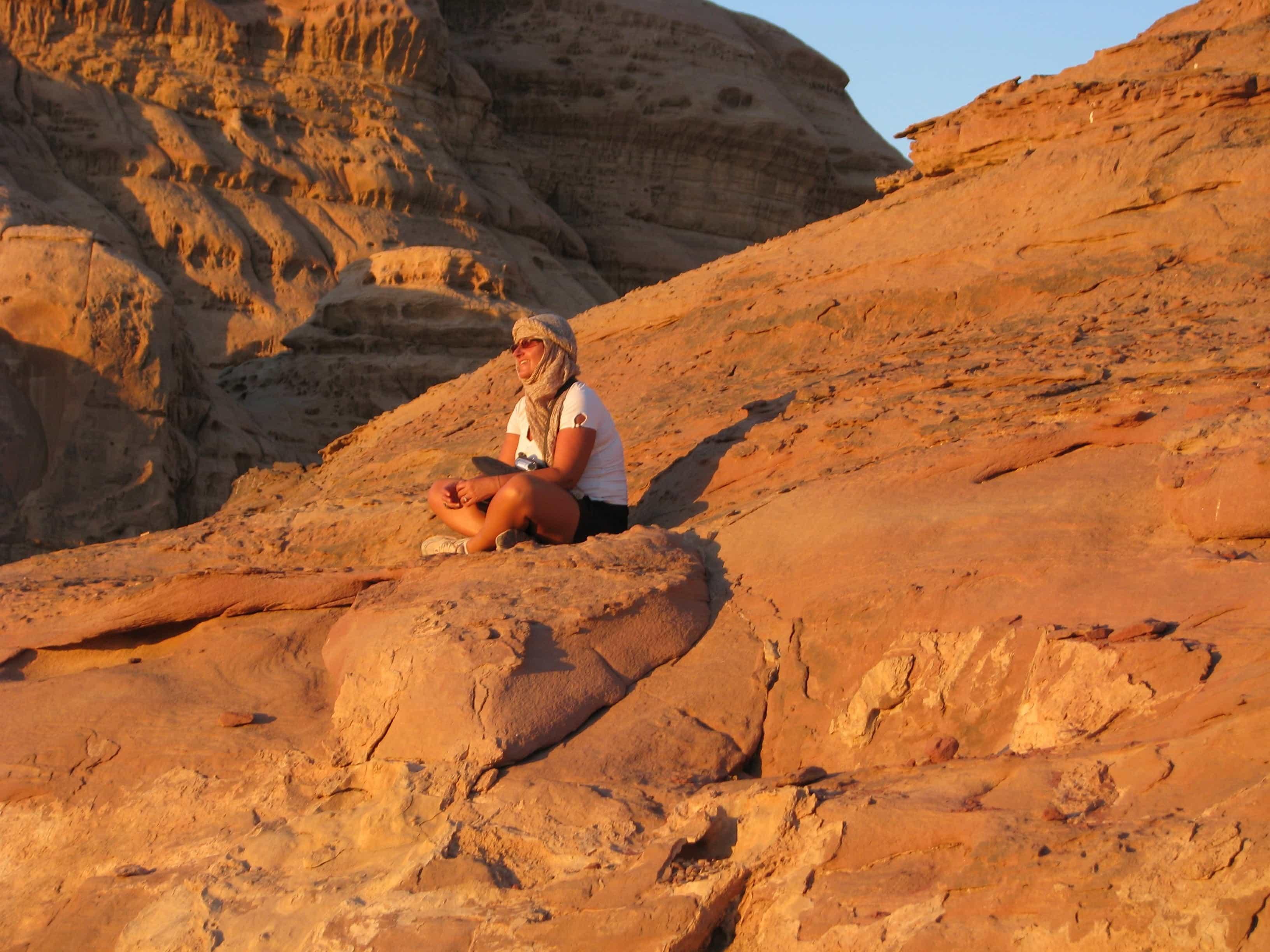 Giordania e Wadi rum