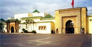 marocco Rabat - Palazzo Reale, le porte
