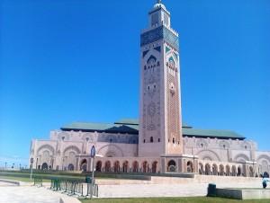marocco casablanca moschea assan