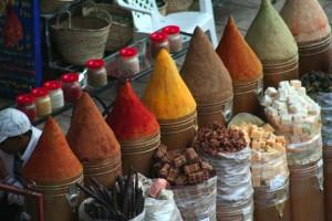 marrakech mercato spezie