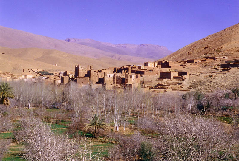 kasbah in valle del dades