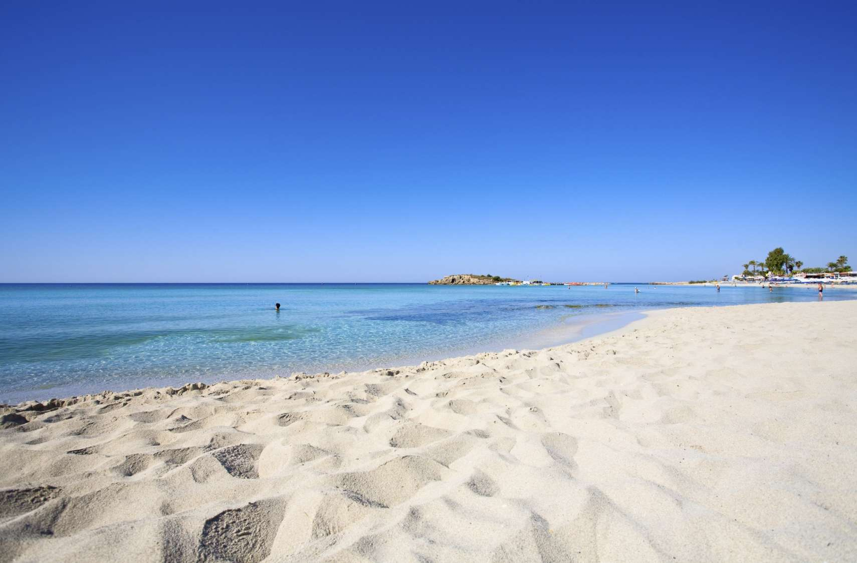 Nissi bay - Cyprus - good as  vacation background