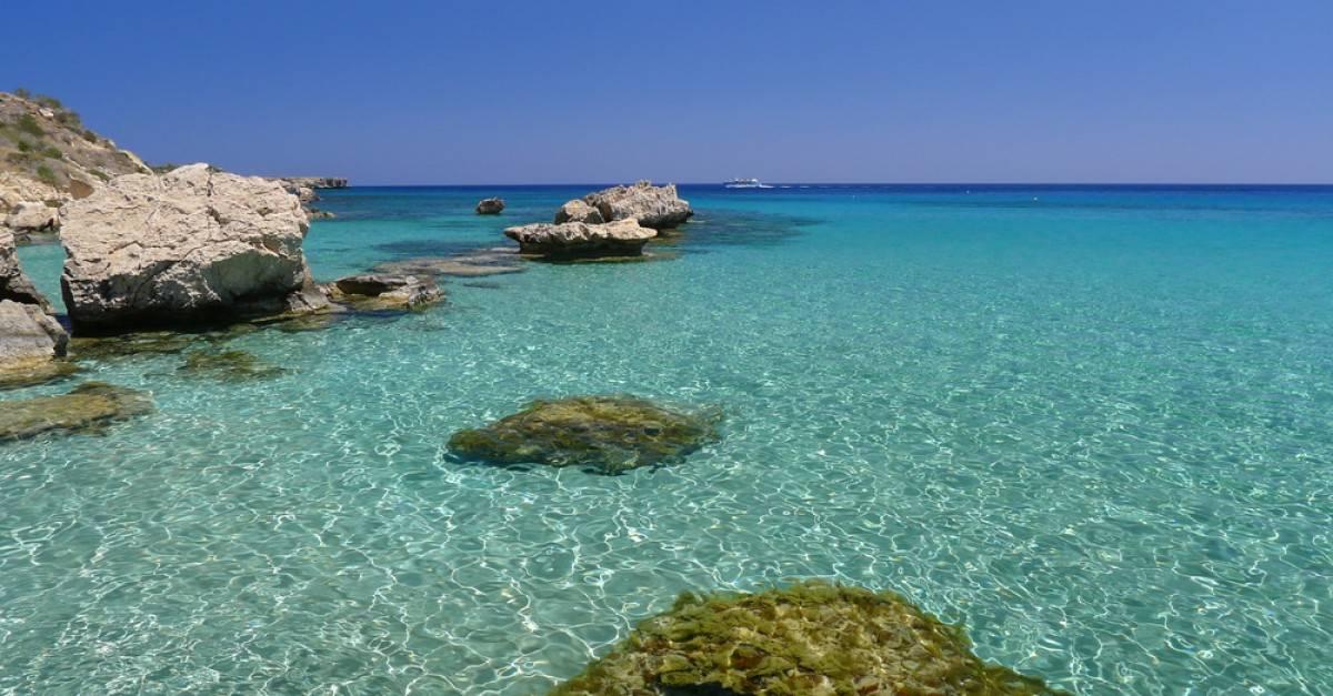 protaras beach cipro