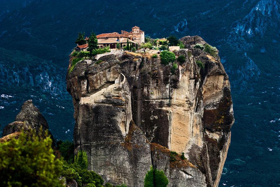 Grecia meteore e villaggi tradizionali