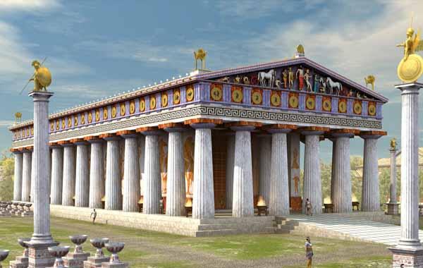 tempio-di-Zeus-a-Olimpia-4