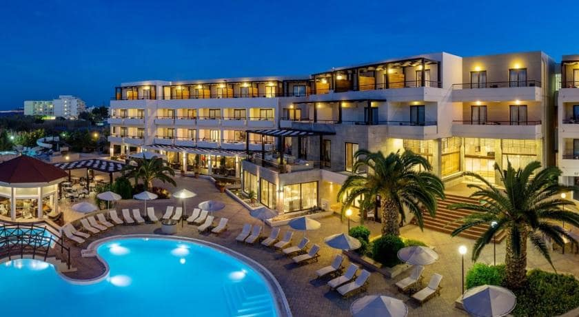 D'Andrea mare beach hotel rodi
