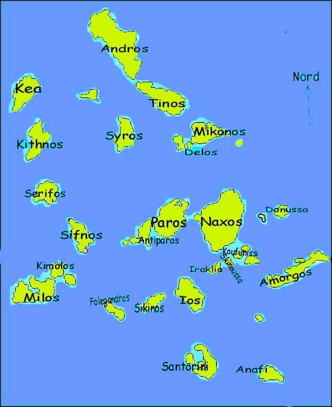 naxos mappa