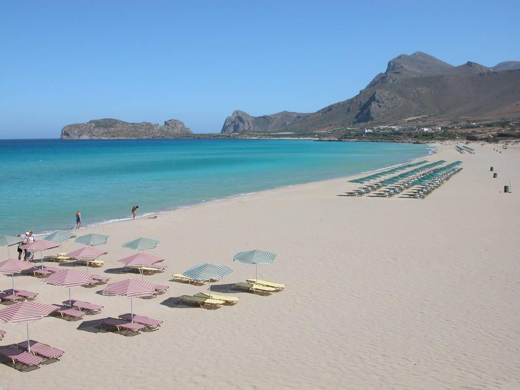 spiaggia FALASSARNA creta