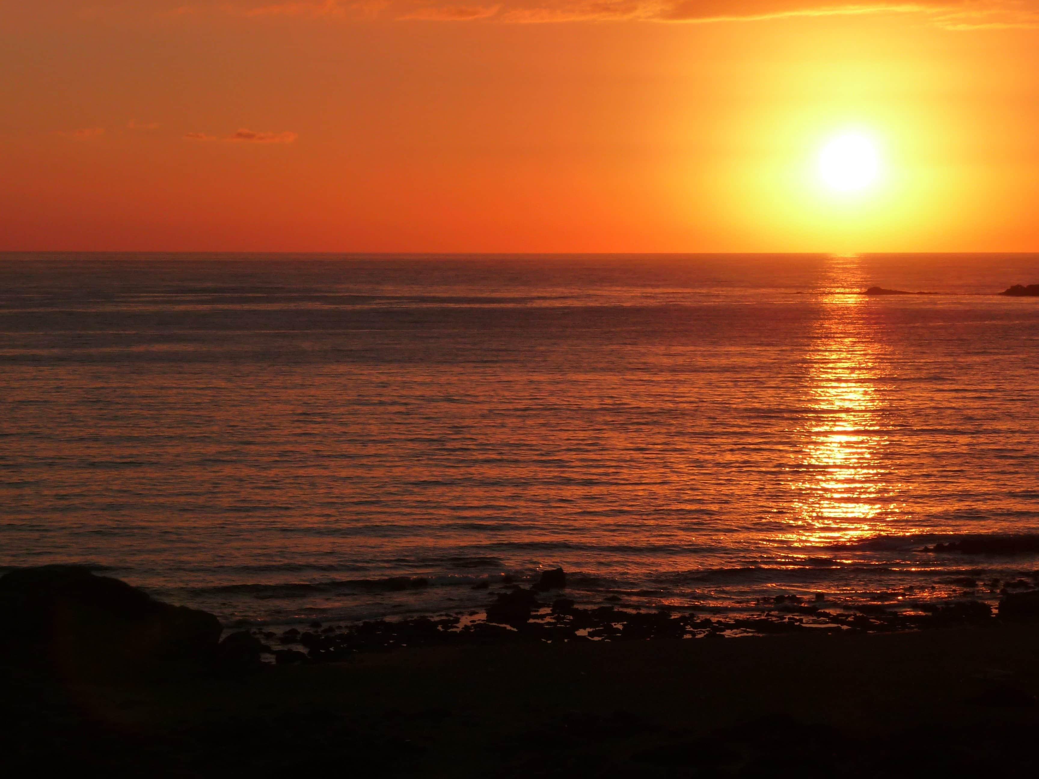 spiaggia di fallasarna creta tramonto