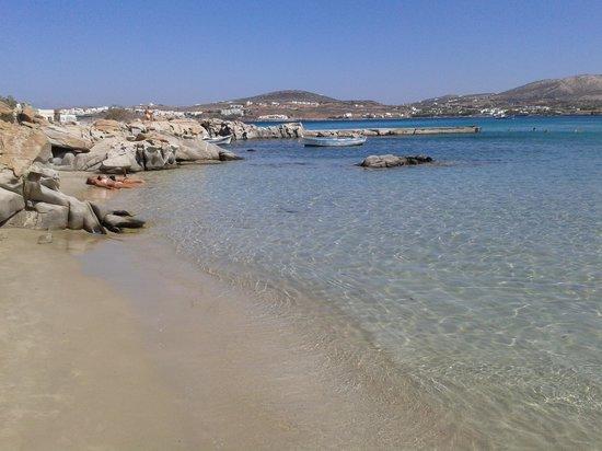 spiaggia di kalimbri paros