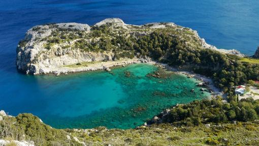Anthony Quinn spiaggia Rodi