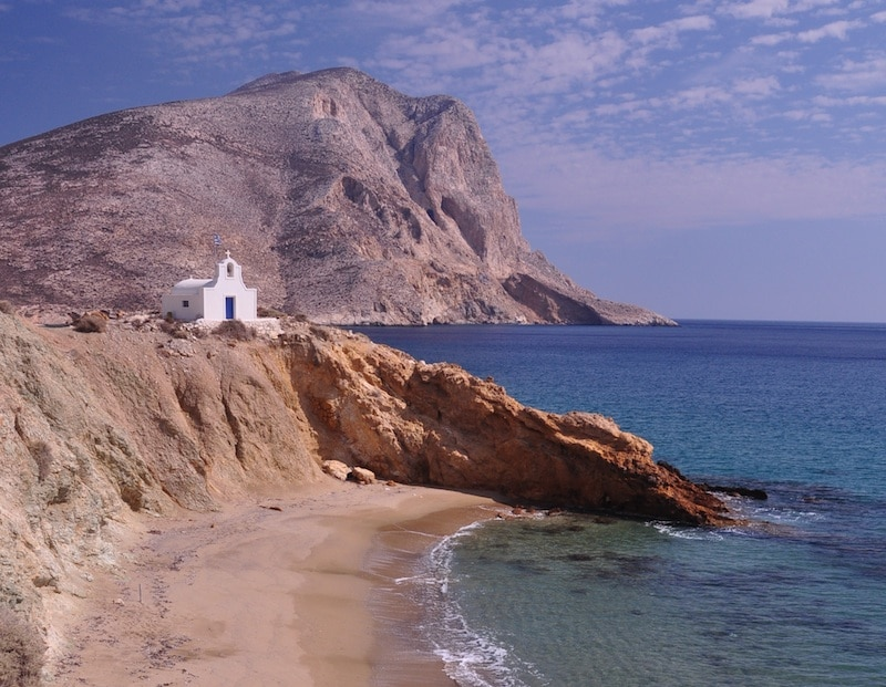 Anafi  vacanza sull' isola della tranquillità e del relax