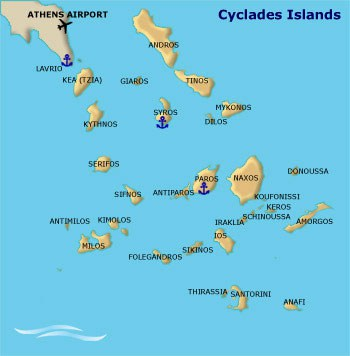 mappa andros