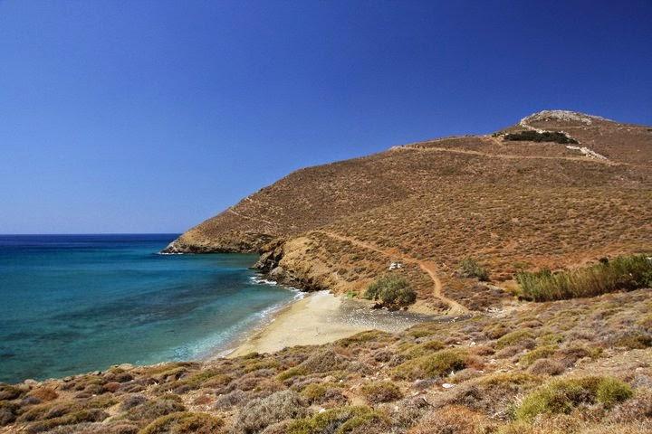 spiagge di anafi