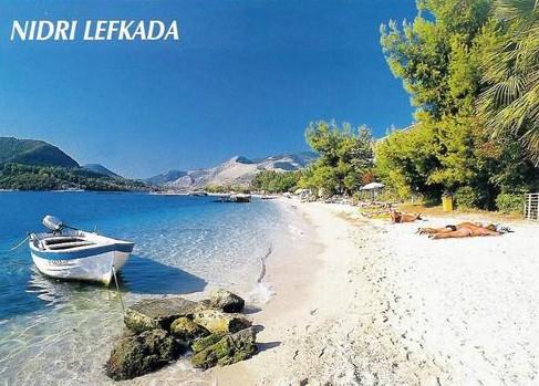 spiaggia di Nidri Lefkada
