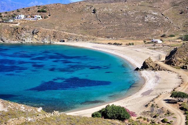 spiaggia di Vilichada Andros