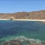 spiaggia di Vlichada Andros