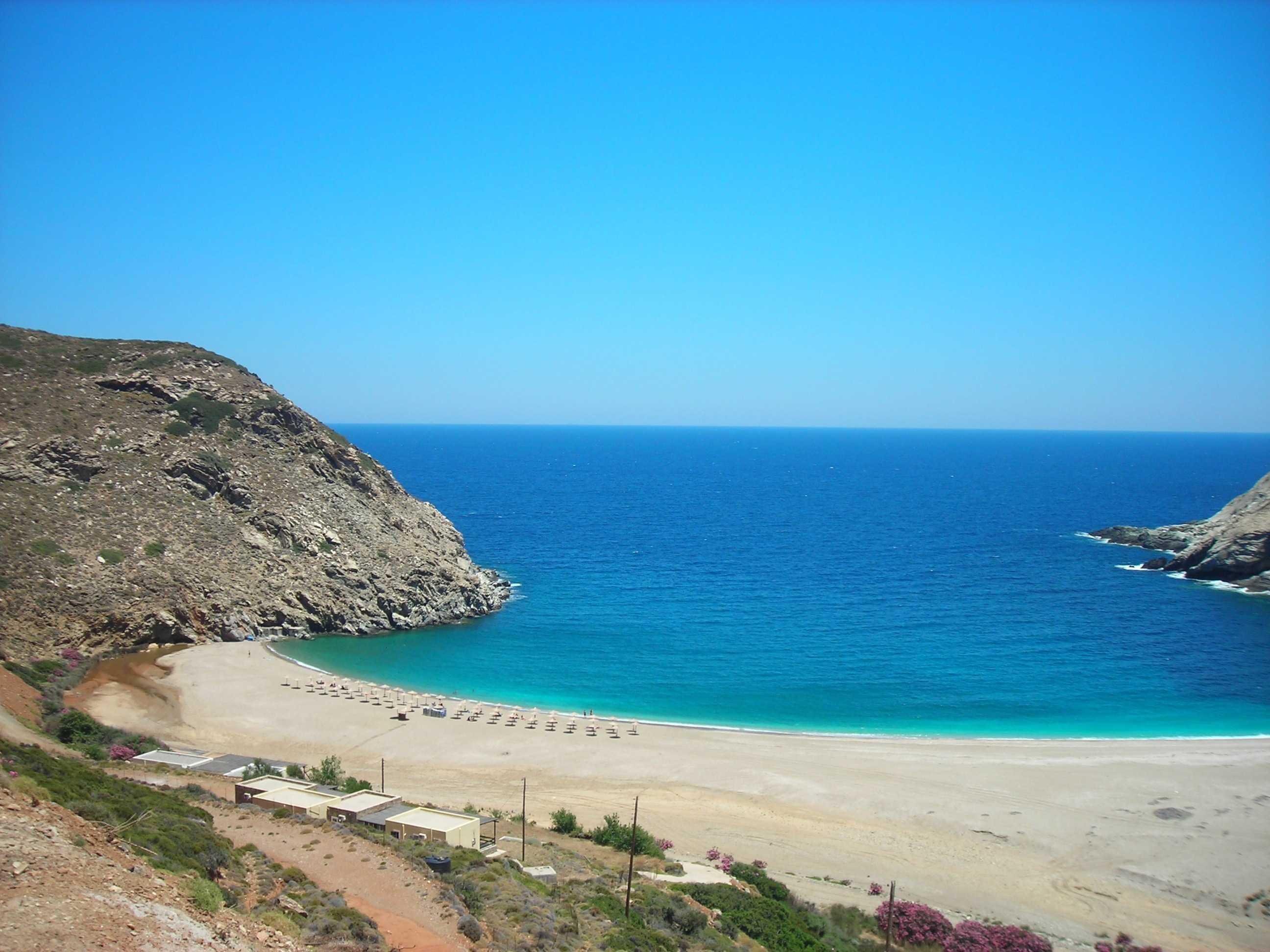 spiaggia di Zorkos Andros