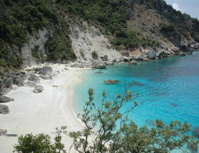 spiaggia di agiofili Lefkada