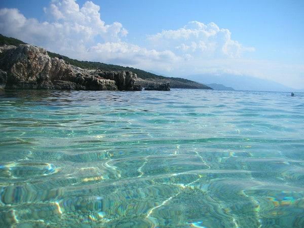spiaggia di Alaties Cefalonia