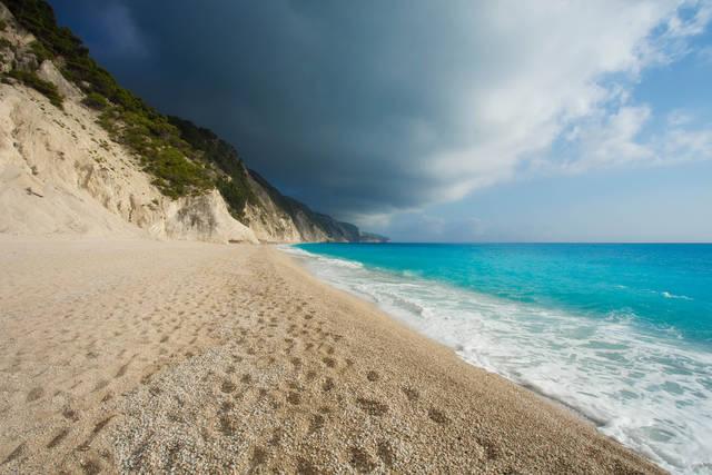 spiaggia di Egremnii Lefkada
