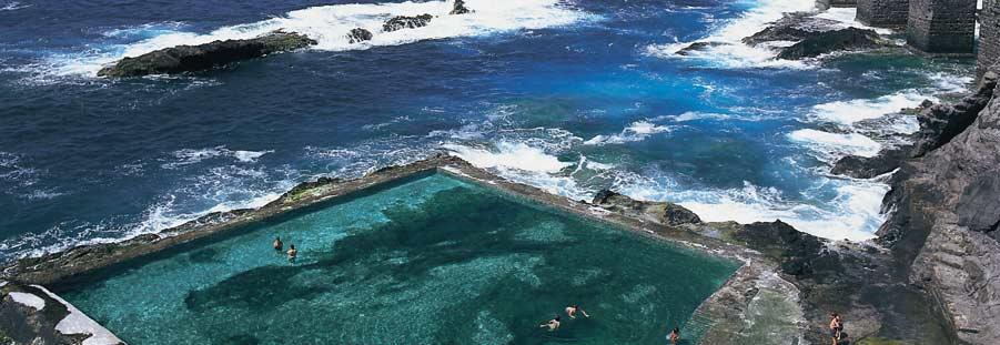hermigua piscina
