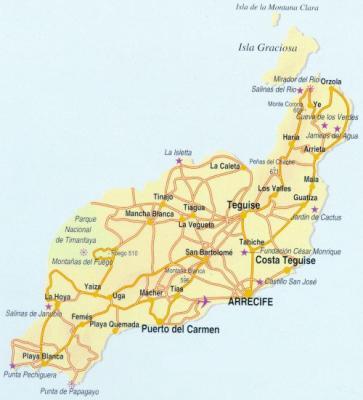 mappa lanzarote1