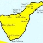 mappa tenerife isole-canarie