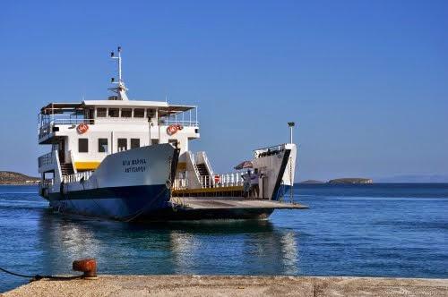 traghetto antiparos