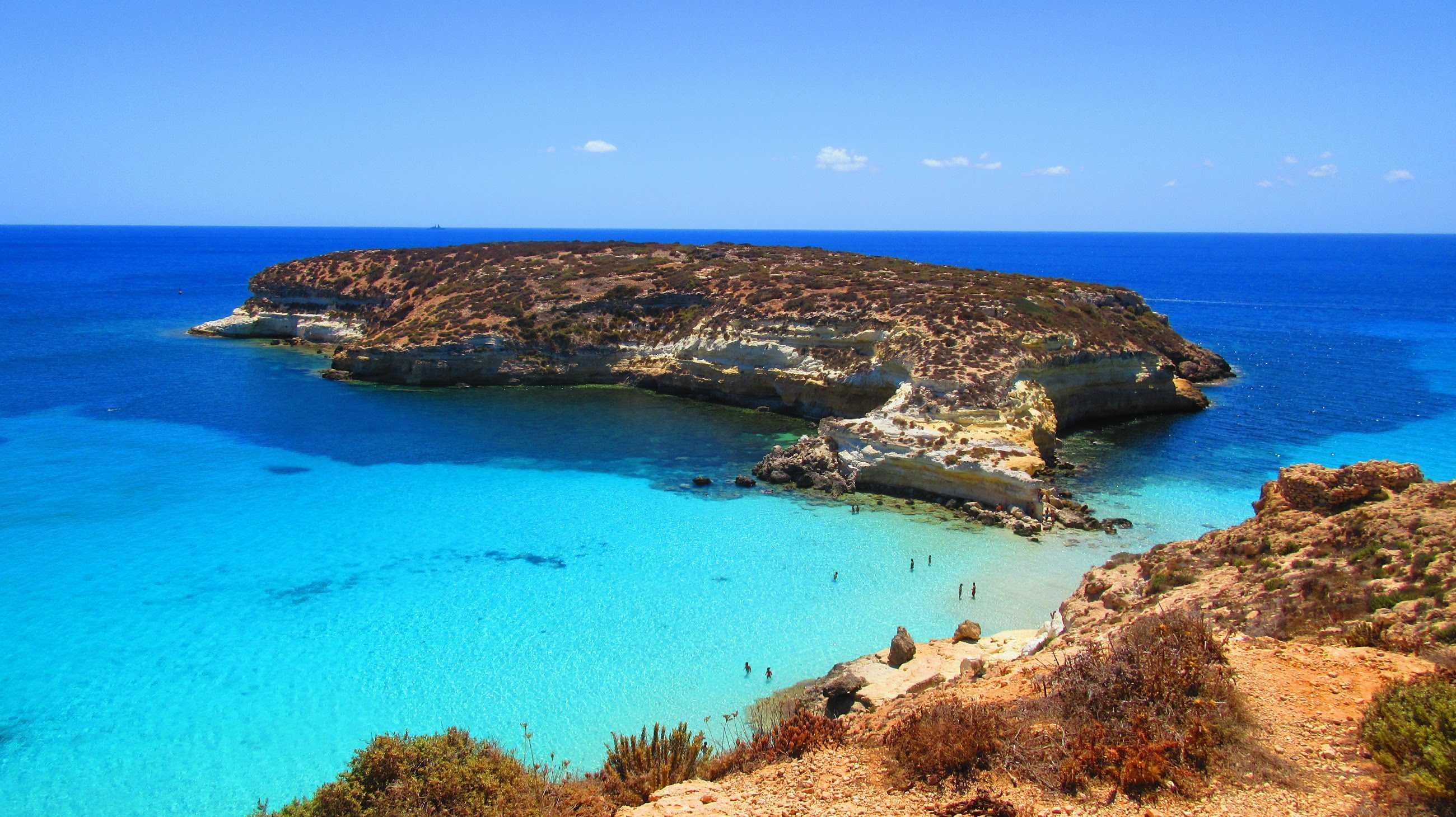Lampedusa e Linosa spiagge bianche  e mare da sogno