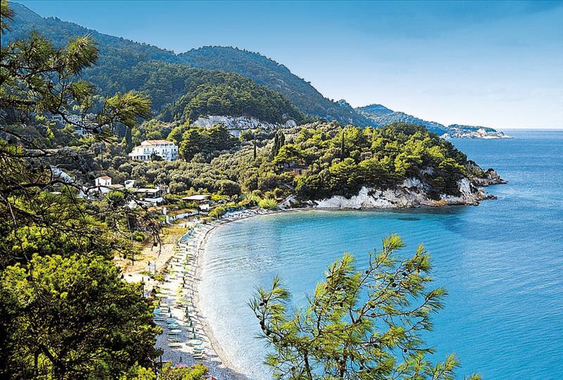 Samos spiaggia