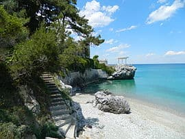 platamonas spiaggia