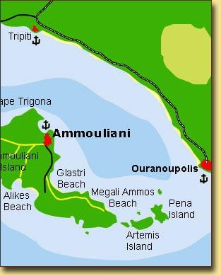 ammouliani mappa
