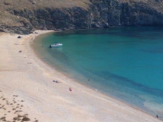 ammouliani spiaggia
