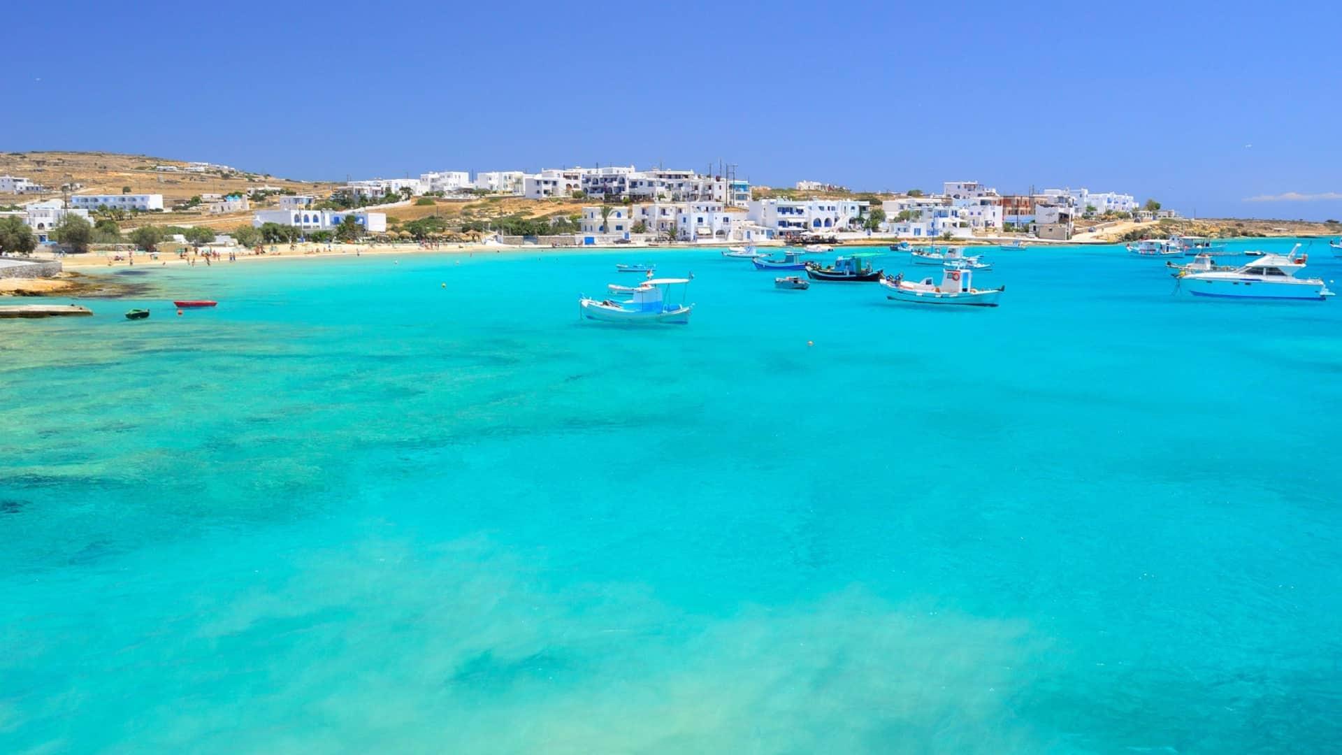 Girando per le Piccole Cicladi Naxos, Schionoussa, Koufonissi
